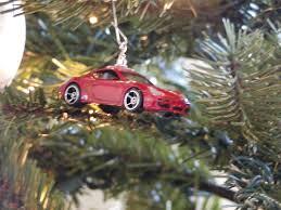 Porsche car Xmas ornament