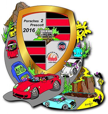 Porsches 2 Prescott 2016