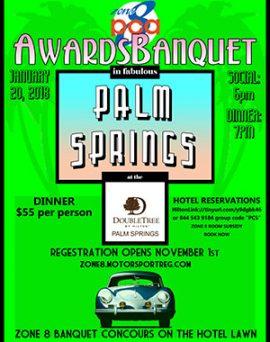 Zone 8 Awards Banquet