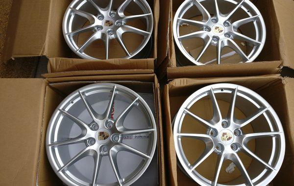 Porsche 20″ 981 Carrera S III Wheel Set For Boxter Cayman