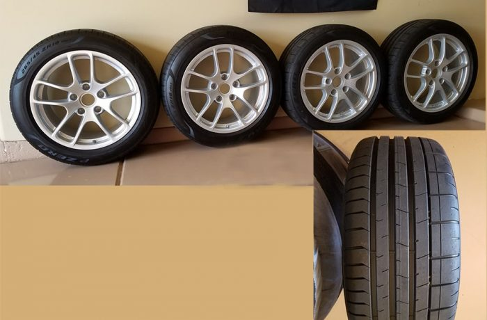 Pirelli P-Zero Porsche N-spec Tires