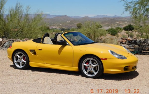 2003 Boxster S
